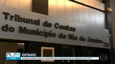 Liminar mantém decisão suspendendo nomeação de conselheiros do TCM - Liminar mantém decisão suspendendo nomeação de conselheiros do TCM