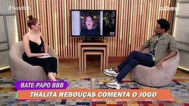 Bate-Papo BBB: Thalita Rebouças elogia finalista Camilla de Lucas no BBB21: 'Sou fã dela' - Bate-Papo BBB: Thalita Rebouças elogia finalista Camilla de Lucas no BBB21: 'Sou fã dela'