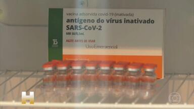 CoronaVac: imunização está suspensa ou atrasada em cidades de 13 estados - A aplicação da segunda dose da CoronaVac está sendo retomada aos poucos nos municípios que receberam novos lotes da vacina. Mas a imunização ainda está suspensa ou atrasada em cidades de pelo menos 13 estados do Brasil.