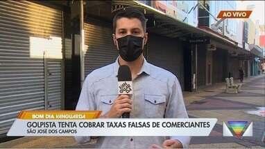 Prefeitura de São José dos Campos alerta comerciantes para golpe do falso fiscal - Administração denunciou caso à Polícia Civil após comerciante desconfiar de abordagem de falso fiscal.