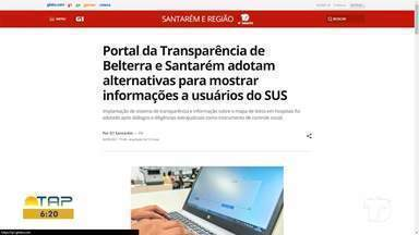 Alternativas para mostrar informações a usuários do SUS é destaque no G1 - Confira a informação completa no portal.