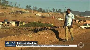 Atingidos pelo rompimento da barragem da Samarco aguardam novos distritos há 2 anos - Fundação Renova já descumpriu o cronograma de entrega das casas três vezes.