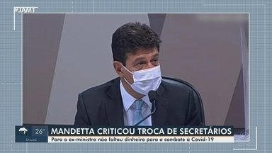 Mandetta critica troca de secretários de Saúde no Amazonas - Ex-ministro de Saúde diz que não houve falta de dinheiro para o combate à Covid-19.
