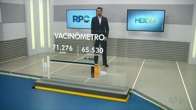Confira como está a vacinação da Covid-19 em Foz do Iguaçu - Até agora a cidade aplicou 65.530 doses.