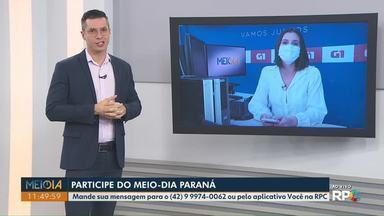Mensagens: telespectadores participam do Meio-Dia Paraná nesta quarta-feira (5) - Participe pelo telefone (42) 99974-0062 ou pelo aplicativo Você na RPC.