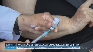 CRM/PR disponibiliza formulário para médicos que têm pacientes com comorbidades
