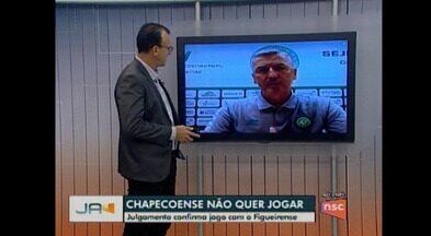 Chapecoense não quer jogar - Verdão do Oeste não quer repetir jogos pelas quartas do Catarinense 2021