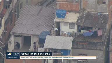 Operação no Jacarezinho deixa 23 mortos - Policial civil e 22 suspeitos morreram; 2 passageiros foram baleados no metrô.