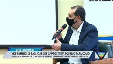 Vice-prefeito de São José testa positivo para Covid-19 - Anderson Farias Ferreira, testou positivo para a covid-19 nesta quarta-feira (5). Ele está em isolamento em casa.