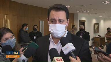 Governador do Paraná defende punição para quem furar a fila da vacinação contra a Covid-19 - Em todo o Estado são mais de 700 denúncias, 30 delas em Londrina.