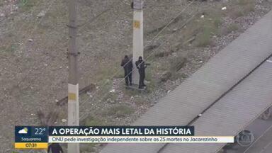 A operação mais letal da história do Rio de Janeiro com 25 mortes - Ministério Público diz que está investigando a ação da polícia na Comunidade do Jacarezinho e que recebeu denúncias de abuso por parte da polícia