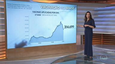 Brasil passa dos 15 milhões de casos de Covid-19 - Total de pessoas infectadas durante a pandemia no país está em 15.009.023.