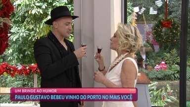 Ana Maria relembra participação de Paulo Gustavo no 'Mais Você' em 2019 - No programa, Paulo falava sobre o filme 'Minha Mãe é Uma Peça 3' e relembrava início da carreira