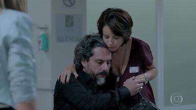 José Alfredo deixa o hospital - Maria Marta conversa com Silviano