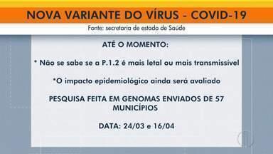 Secretaria de Saúde identifica nova variante P1.2 com maior circulação no Norte Fluminense - Infectologista tira dúvidas sobre a nova variante do coronavírus.