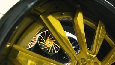 Rodas e adesivos - Rodas bipartidas e ideias ousadas de personalização