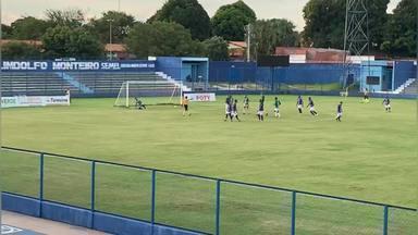 Gol do Altos! De pênalti, Manoel solta a perna direita e marca contra o Parnahyba - Gol do Altos! De pênalti, Manoel solta a perna direita e marca contra o Parnahyba
