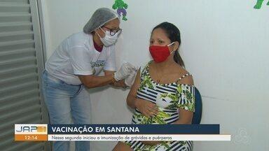 Santana, no Amapá, passa a aplicar a vacina da Pfizer entre grávidas e puérperas - Santana, no Amapá, passa a aplicar a vacina da Pfizer entre grávidas e puérperas
