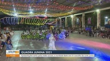 Com apresentações pelas redes sociais, 'Quadra Junina 2021' terá escolha da corte junina - Com apresentações pelas redes sociais, 'Quadra Junina 2021' terá escolha da corte junina