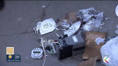 Artefato explosivo entregue em lar de idosos em Uberlândia é detonado - Grupo Antibomba da Polícia Federal realizou a detonação do explosivo dentro do almoxarifado no lar, de forma segura. Ninguém ficou ferido e idosos permaneceram em outro local durante ação policial.