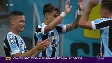 Tem final definida no Campeonato Gaúcho e no Carioca - Campeonatos estaduais chegam na reta final pelo Brasil