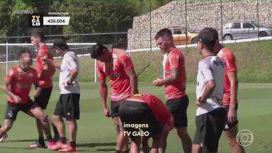 Atlético volta as atenções para a Libertadores; Cuca fala sobre vacinação da Conmebol - Atlético volta as atenções para a Libertadores; Cuca fala sobre vacinação da Conmebol