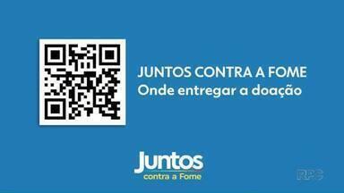 Juntos Contra a Fome: saiba como ajudar entidades de Maringá - Campanha supera marca de 9 toneladas arrecadadas.