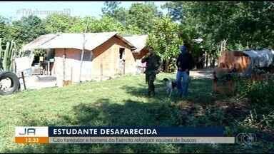 Exército, bombeiros e voluntários procuram jovem que desapareceu em Araguaína - Exército, bombeiros e voluntários procuram jovem que desapareceu em Araguaína