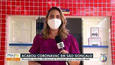 Doses de Coronavac acabam em São Gonçalo do Amarante - Doses de Coronavac acabam em São Gonçalo do Amarante