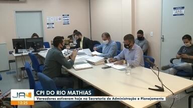 Jefferson Saavedra: vereadores cumprem diligências da CPI do Rio Mathias - Jefferson Saavedra: vereadores cumprem diligências da CPI do Rio Mathias