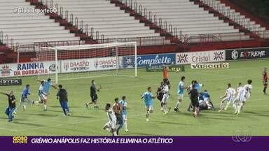 Grêmio Anápolis vence o Atlético-GO nos pênaltis e avança à final do Goianão - Raposa vai enfrentar o Vila Nova na grande decisão estadual
