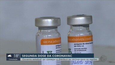 Governo de MG vai começar a distribuir as vacinas para 2ª dose da CoronaVac - Governo de MG vai começar a distribuir as vacinas para 2ª dose da CoronaVac