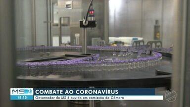 Governador de MS é ouvido em comissão de combate ao Coronavírus - MS2
