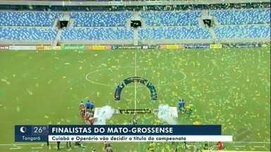 Cuiabá e Operário vão disputar o título do Mato-grossense de Futebol - Cuiabá e Operário vão disputar o título do Mato-grossense de Futebol.