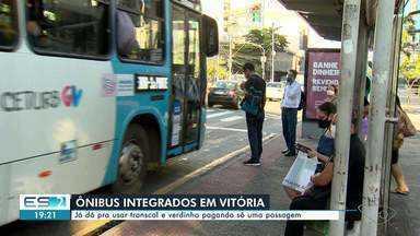 Começa a valer a integração dos ônibus 'verdinhos' e Transcol na Grande Vitória - Veja a seguir.
