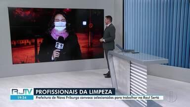 Prefeitura de Friburgo, RJ, convoca profissionais de limpeza para trabalhar em hospital - Município está convocando os profissionais selecionados para trabalharem no Hospital Raul Sertã.