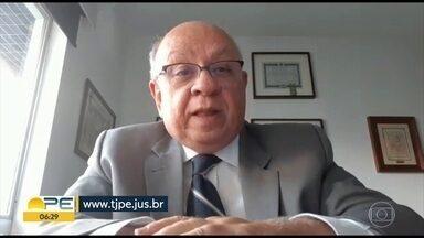 TJPE tem novo serviço de atendimento ao público - Balcão virtual do Tribunal da Justiça de Pernambuco funciona das 9h às 13h