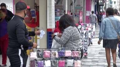 Prefeitura de Mogi faz estudos para regularização de novos ambulantes - Atualmente, muitos vendedores de rua trabalham de forma irregular.