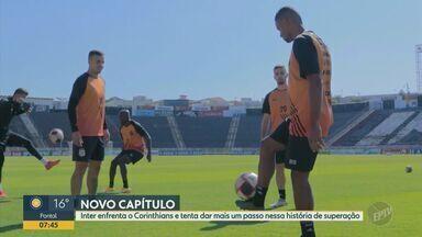 Na fase final do Paulistão após 35 anos, Inter de Limeira enfrenta o Corinthians - Técnico da Inter de Limeira Thiago Carpini não poderá contar com dois jogadores do clube que pertencem ao time da capital.