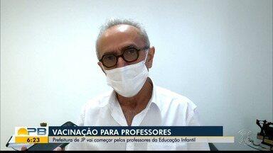 Prefeitura de João Pessoa discute vacinação contra a Covid-19 para professores - Vacinação vai começar pelos professores da educação infantil