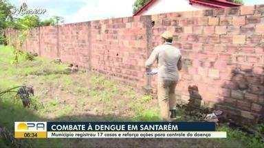 Em Santarém, município registra queda nos registro dos casos de dengue em 2021 - Município registrou 17 casos e reforça ações para controle da doença.
