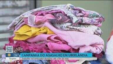 Em Uberlândia, Instituto Rogério Ananias arrecada agasalhos - Campanha recebe agasalhos até o fim do mês. Saiba como ajudar.