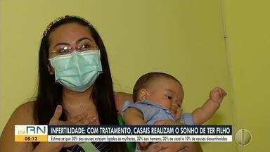 Infertilidade: com tratamento, casais realizam o sonho de ter filho - Infertilidade: com tratamento, casais realizam o sonho de ter filho