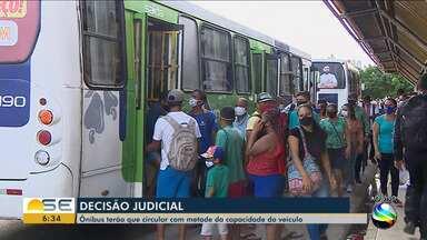 Ônibus da Grande Aracaju serão obrigados a comportar todos os passageiros todos sentados - Ônibus da Grande Aracaju serão obrigados a comportar todos os passageiros todos sentados.