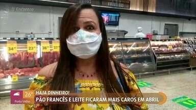 O café da manhã do brasileiro está mais caro - A alta nos preços também impactou os pequenos negócios