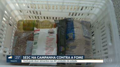 40 unidades do SESC em SP vão receber doações - Alimentos e kits de higiene serão distribuídos às comunidades carentes