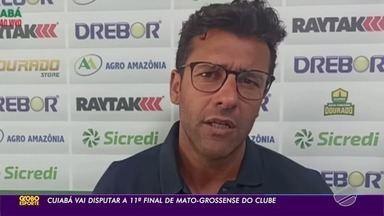 Alberto Valentim cita evolução da equipe e fala sobre a final do Mato-grossense - Alberto Valentim cita evolução da equipe e fala sobre a final do Mato-grossense.