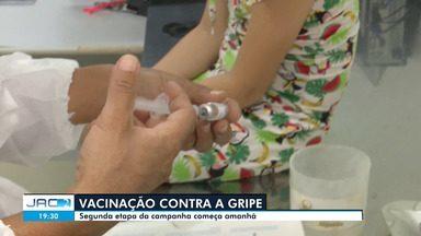 Saúde de Rio Branco diz que procura por vacinação contra a gripe na 1 fase é pequena - Saúde de Rio Branco diz que procura por vacinação contra a gripe na 1 fase é pequena