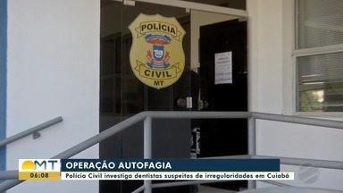Operação da polícia investiga irregularidades na Sec. de Saúde de Cuiabá - Operação da polícia investiga irregularidades na Sec. de Saúde de Cuiabá