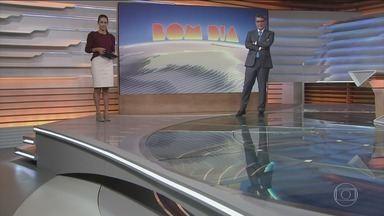 Bom dia Brasil - Edição de 14/05/2021 - O telejornal, com apresentação de Chico Pinheiro e Ana Paula Araújo, exibe as primeiras notícias do dia no Brasil e no mundo e repercute os fatos mais relevantes.
